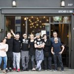 The team at Roman Road independent restaurant Bacaro