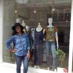 Angela Knowles, owner of Roman Road independent shop Baruch Boutique
