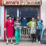 Roman Road independent shop Lama's Pyjamas