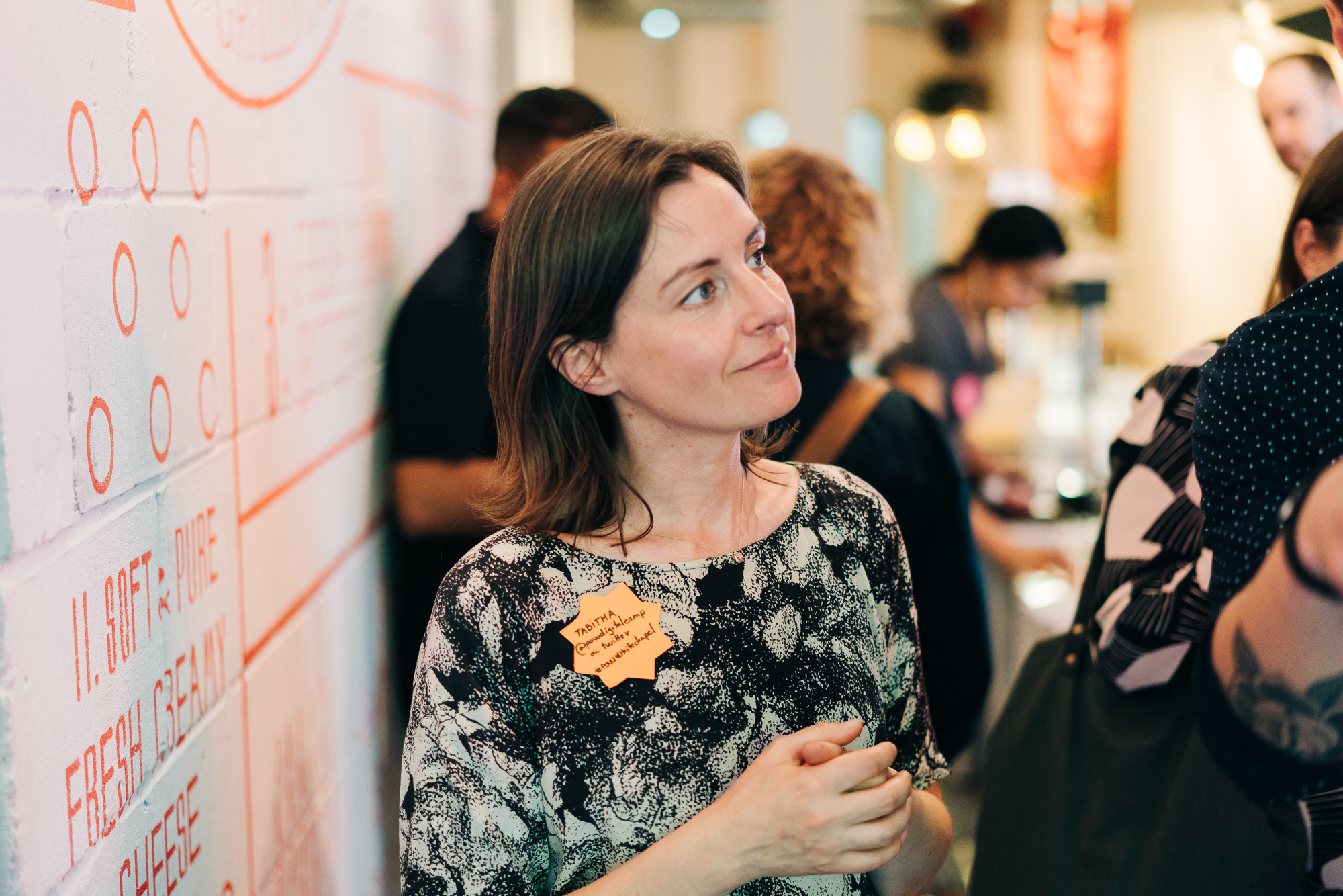 Tabitha Stapely at POW Digital Camp meetup in Whitechapel